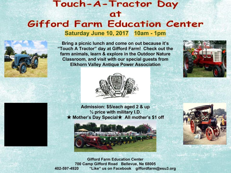 Touch A Tractor Facebook Flyer