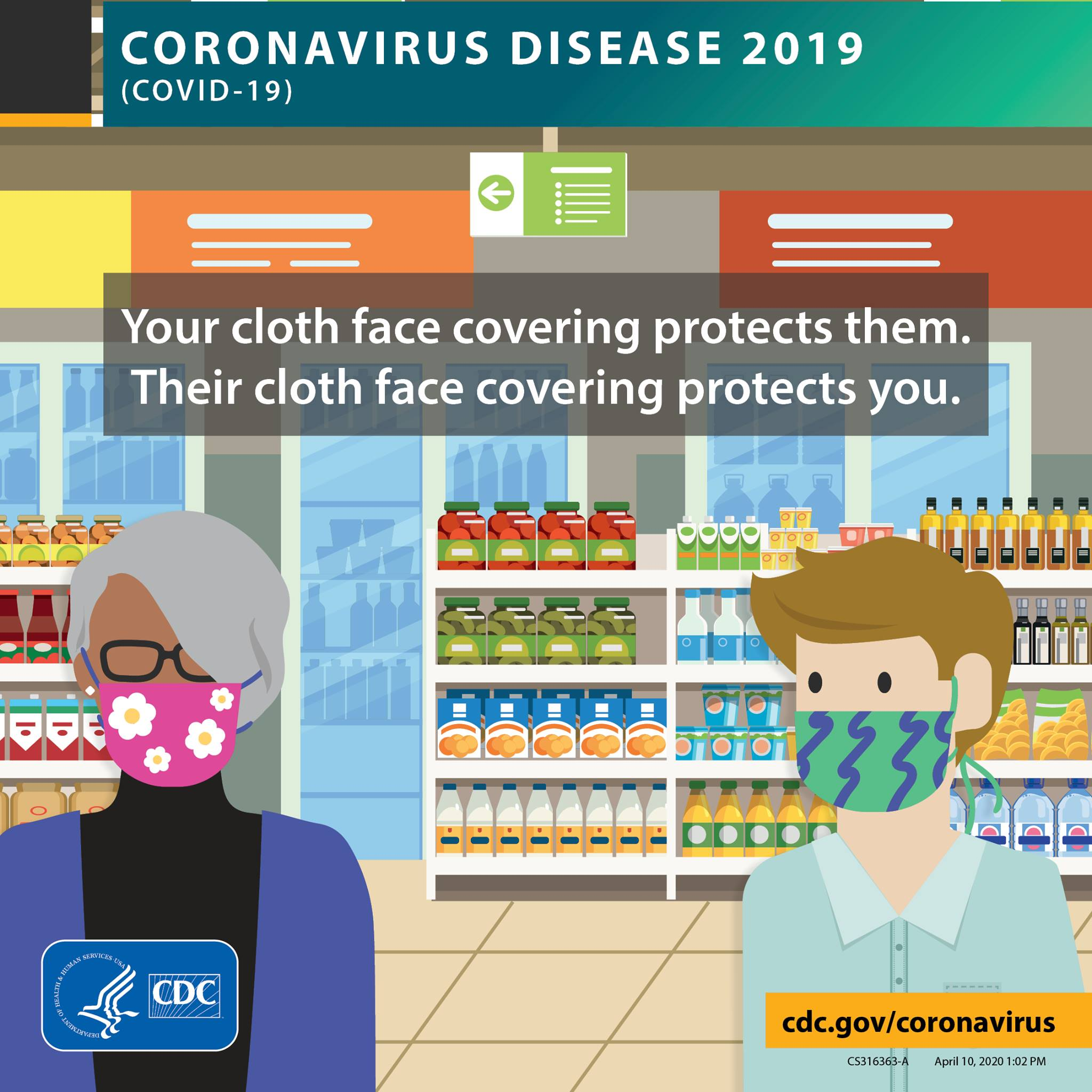 cdc wear masks