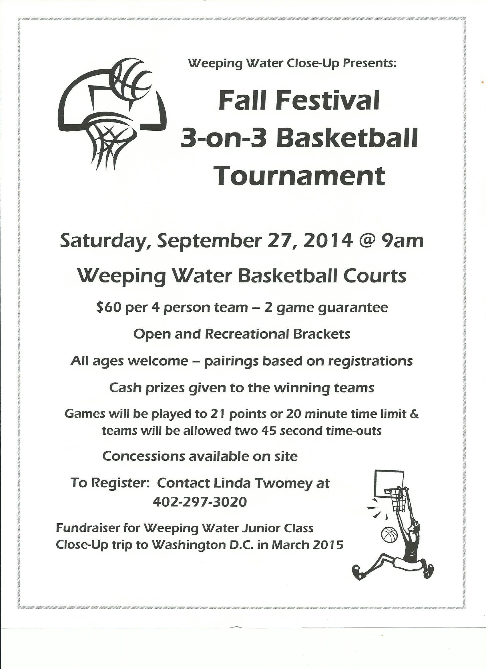 3 on 3 Bball Tourn