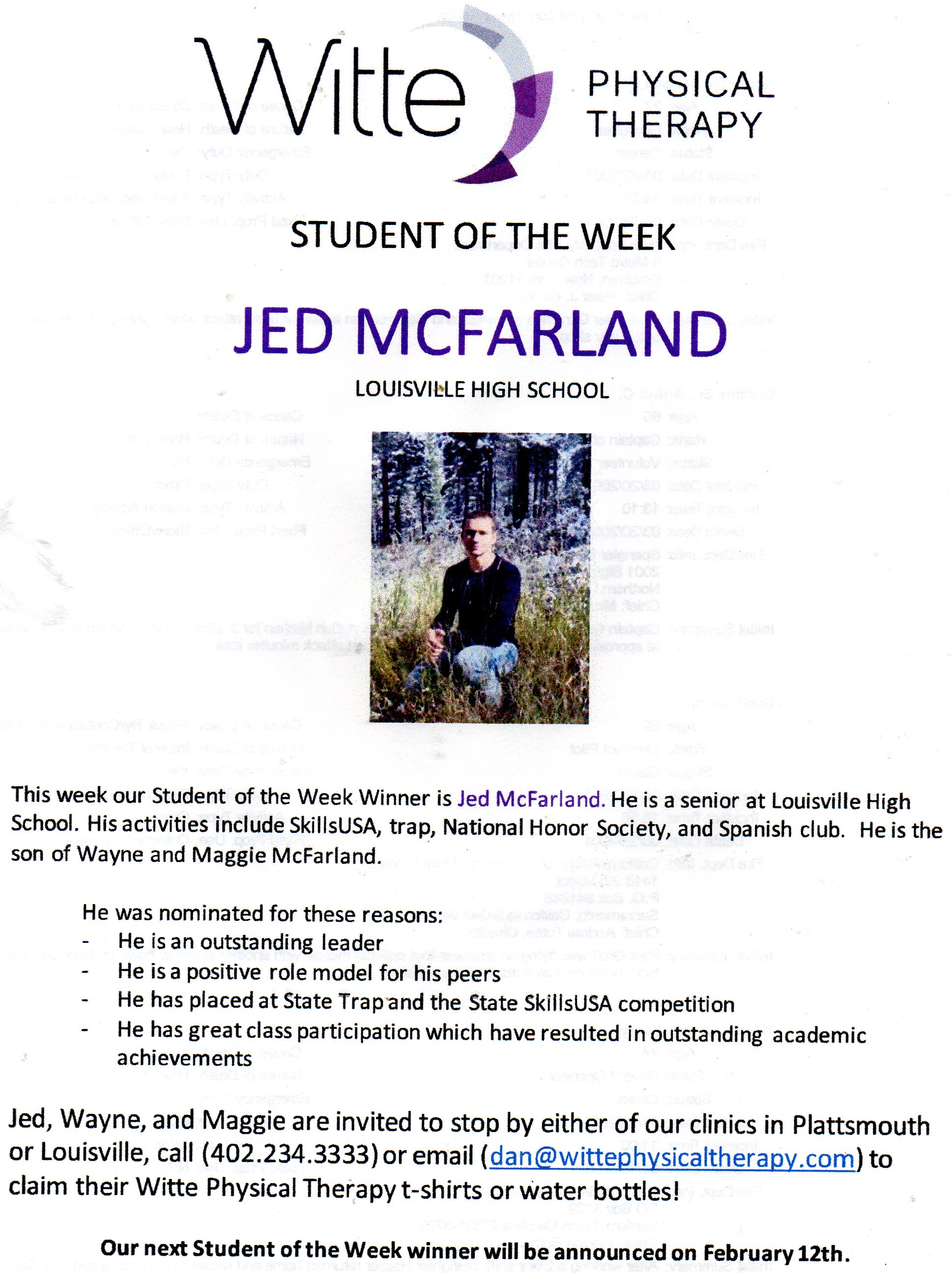 img045STUDENT OF THE WEEK